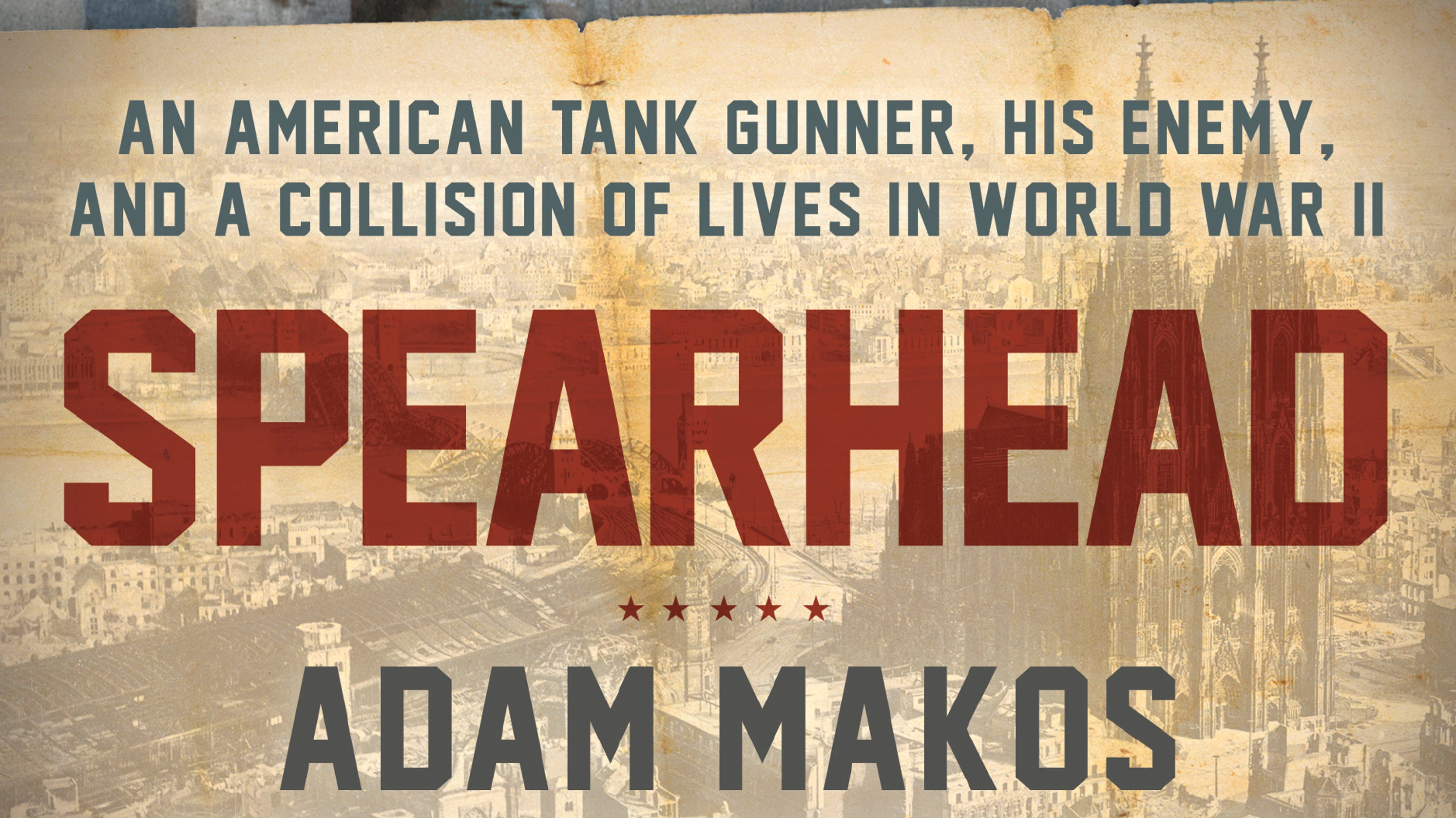 Spearhead' is a WWII book on tank strategy, but humanity is