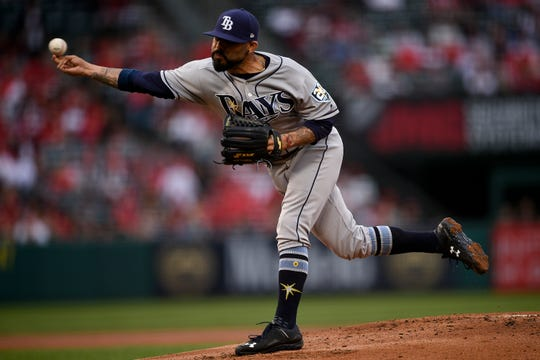 """Closer Sergio Romo became the """"opener"""" when he started a game against the Angels on May 19."""