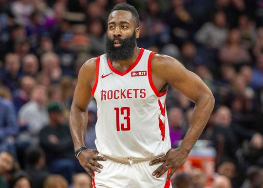 James Harden is leading the NBA in scoring, although the Rockets managed to win at least one game without him.
