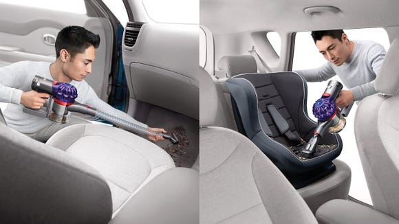 This little vacuum is perfect for hard-to-reach messes at home and in your car.