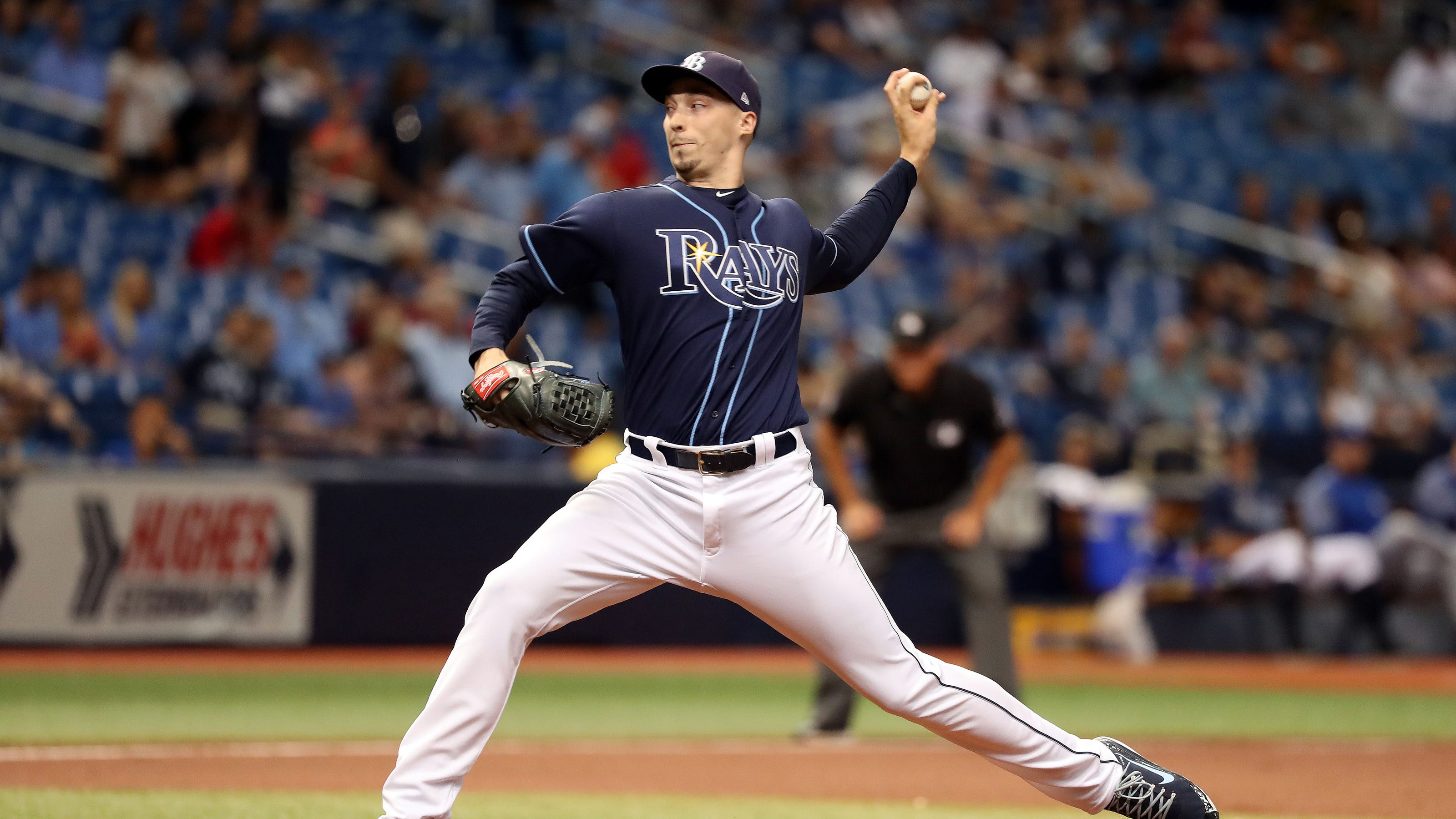 blake snell rays ace holds nothing back it s violently personal blake snell rays ace holds nothing