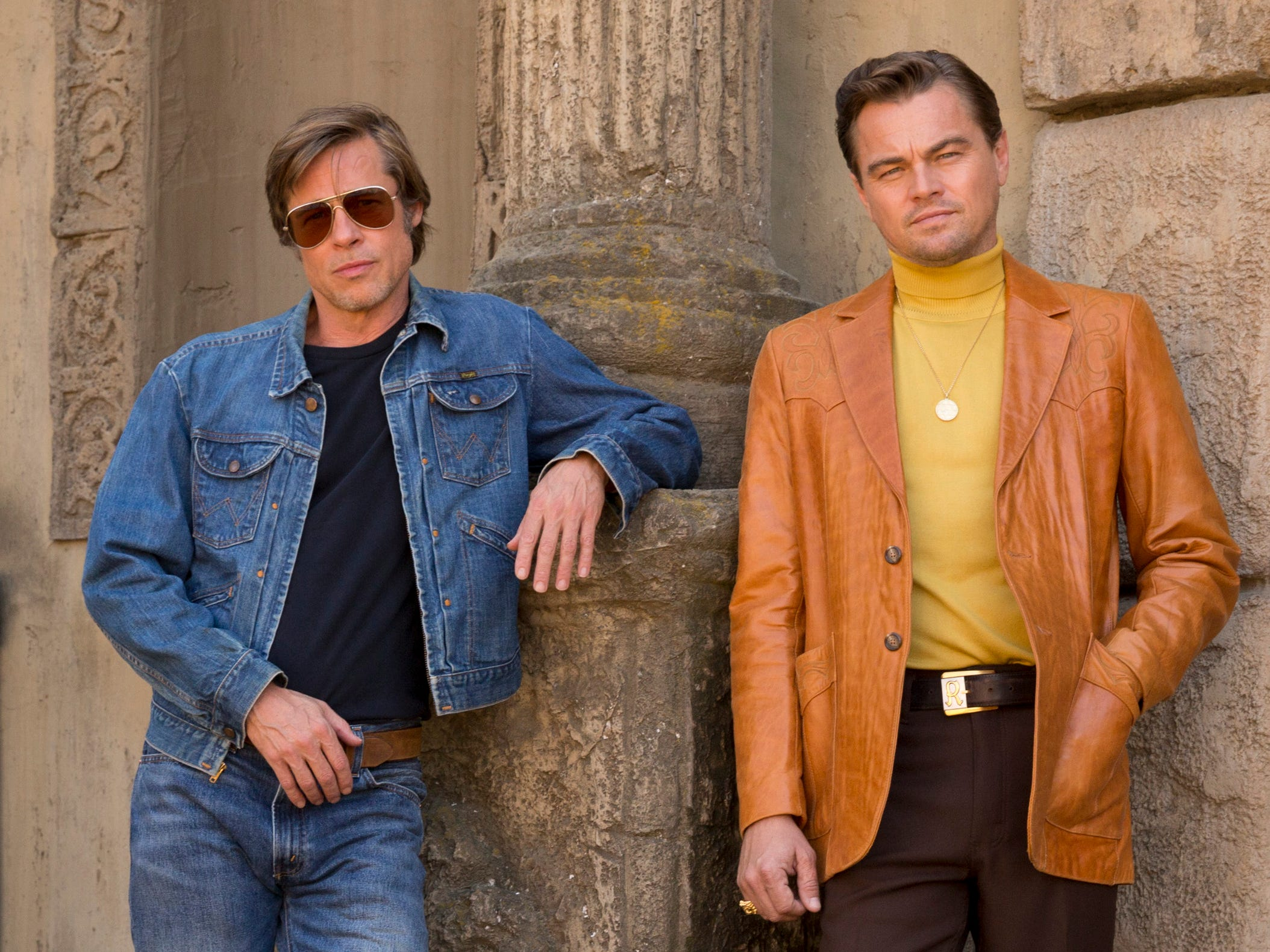 Leonardo DiCaprio, Brad Pitt go retro in first 'Once Upon a Time In Hollywood' poster