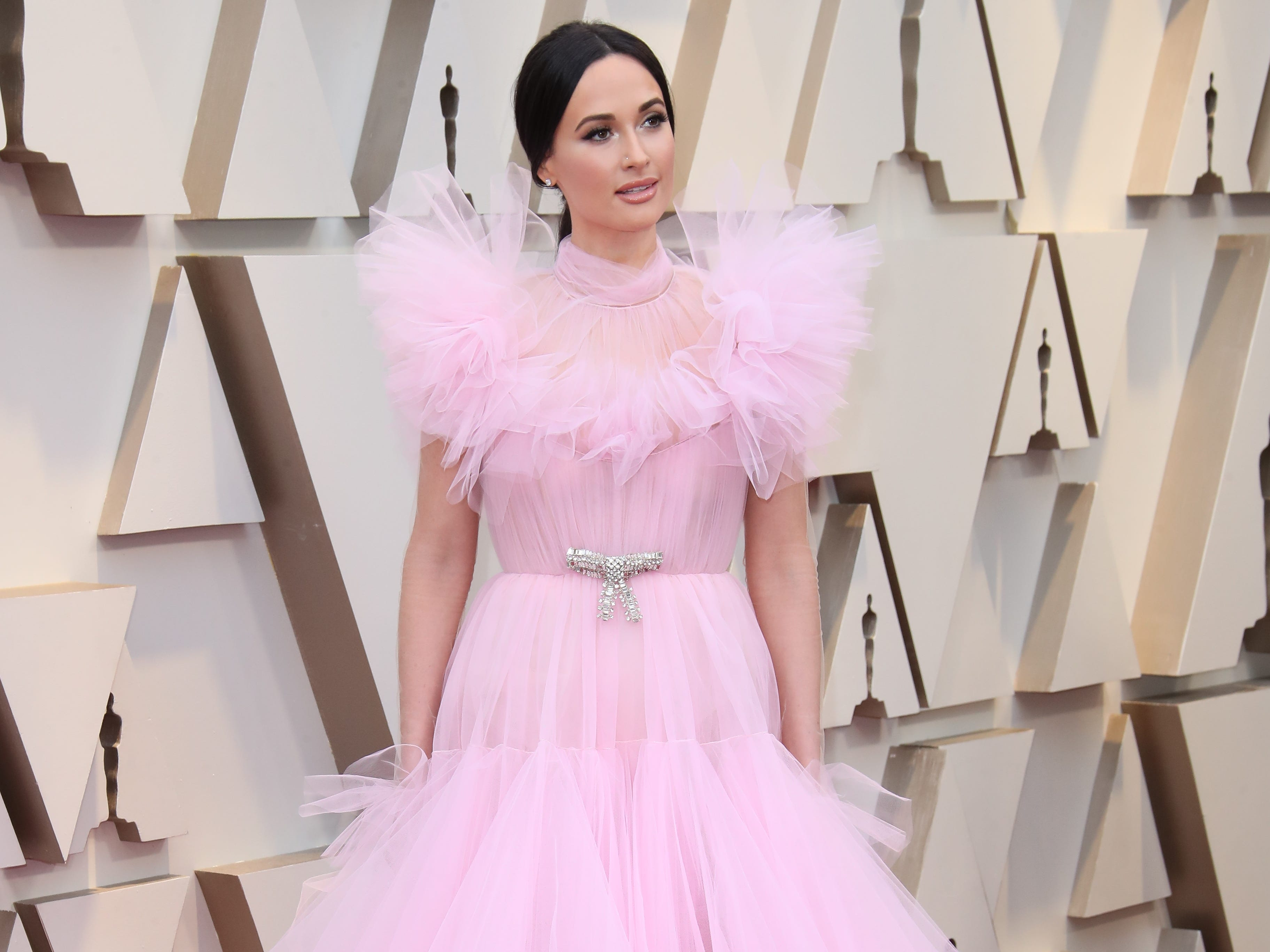 February 24, 2019; Los Angeles, CA, USA; Kacey Musgraves arrives at the 91st Academy Awards at the Dolby Theatre. Mandatory Credit: Dan MacMedan-USA TODAY NETWORK (Via OlyDrop)