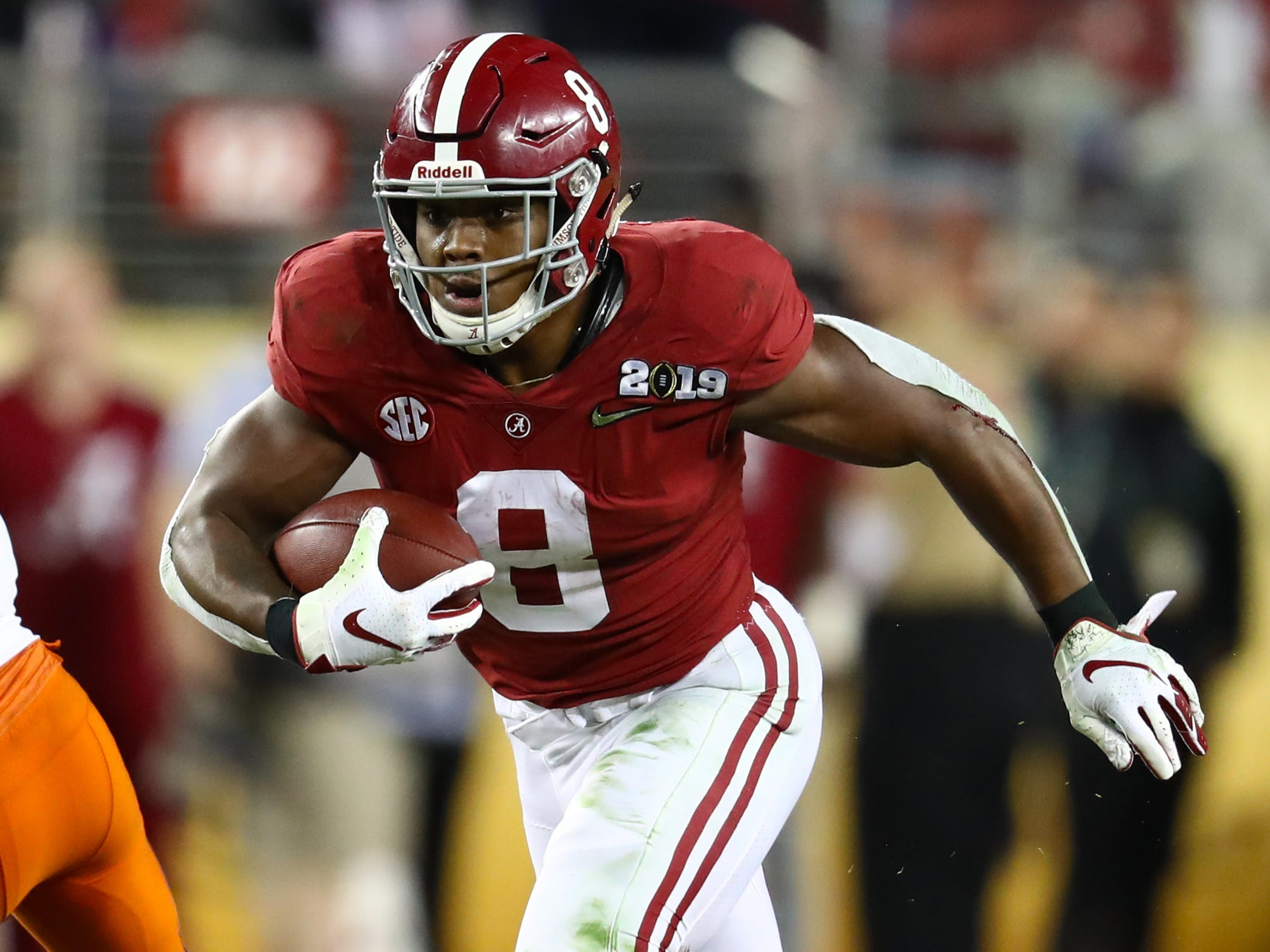 27. Raiders (from Cowboys) - Josh Jacobs, RB, Alabama