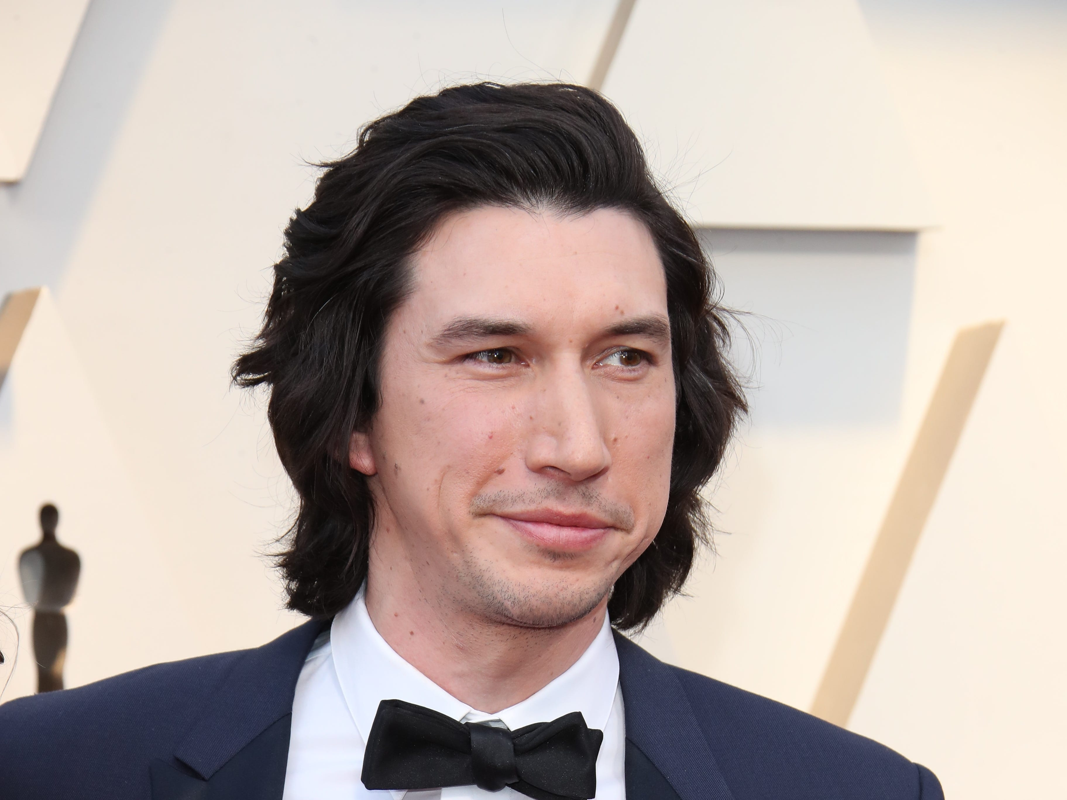 February 24, 2019; Los Angeles, CA, USA; Adam Driver arrives at the 91st Academy Awards at the Dolby Theatre. Mandatory Credit: Dan MacMedan-USA TODAY NETWORK (Via OlyDrop)