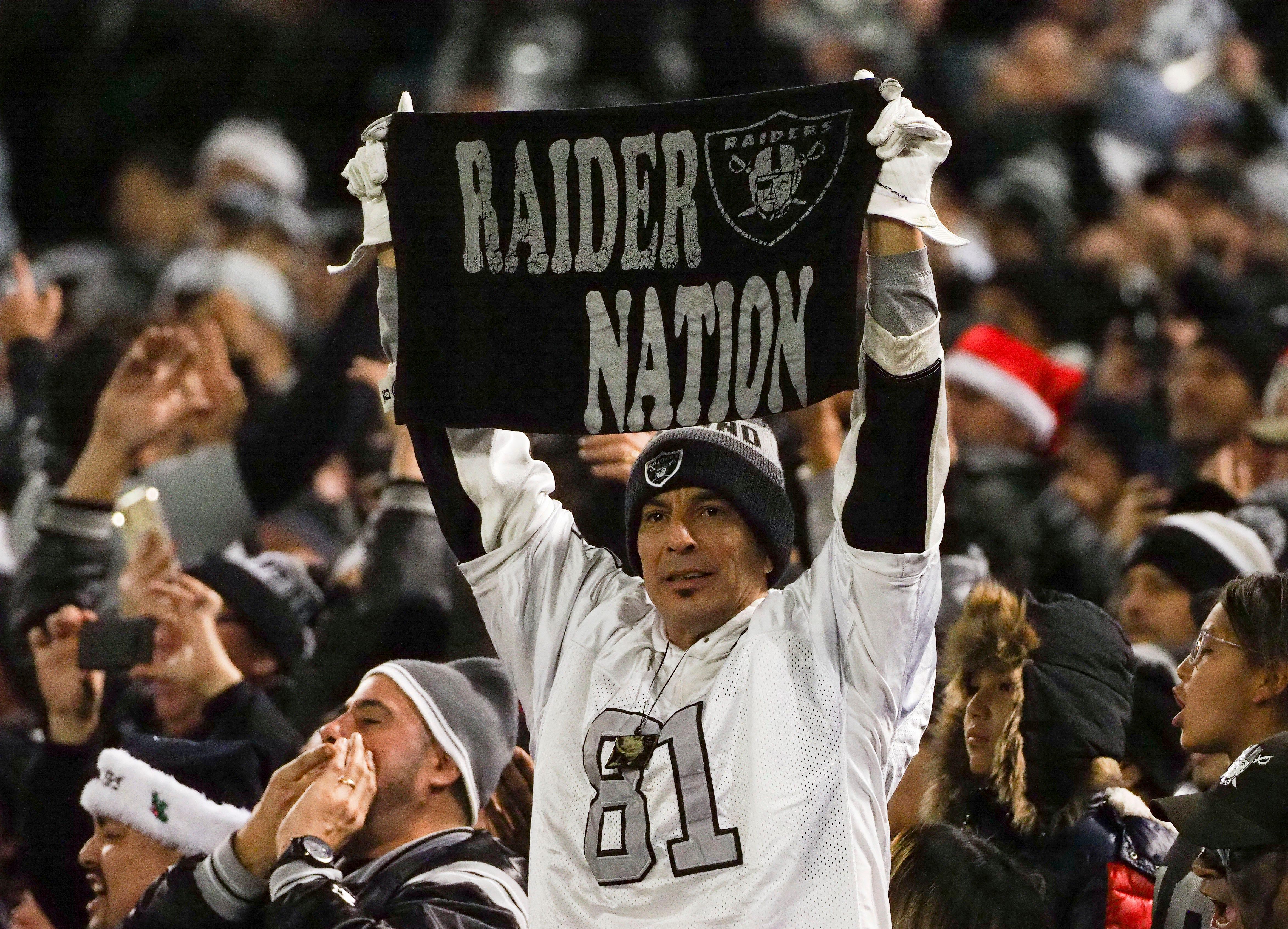 Oakland Raiders officially renamed Las Vegas Raiders...