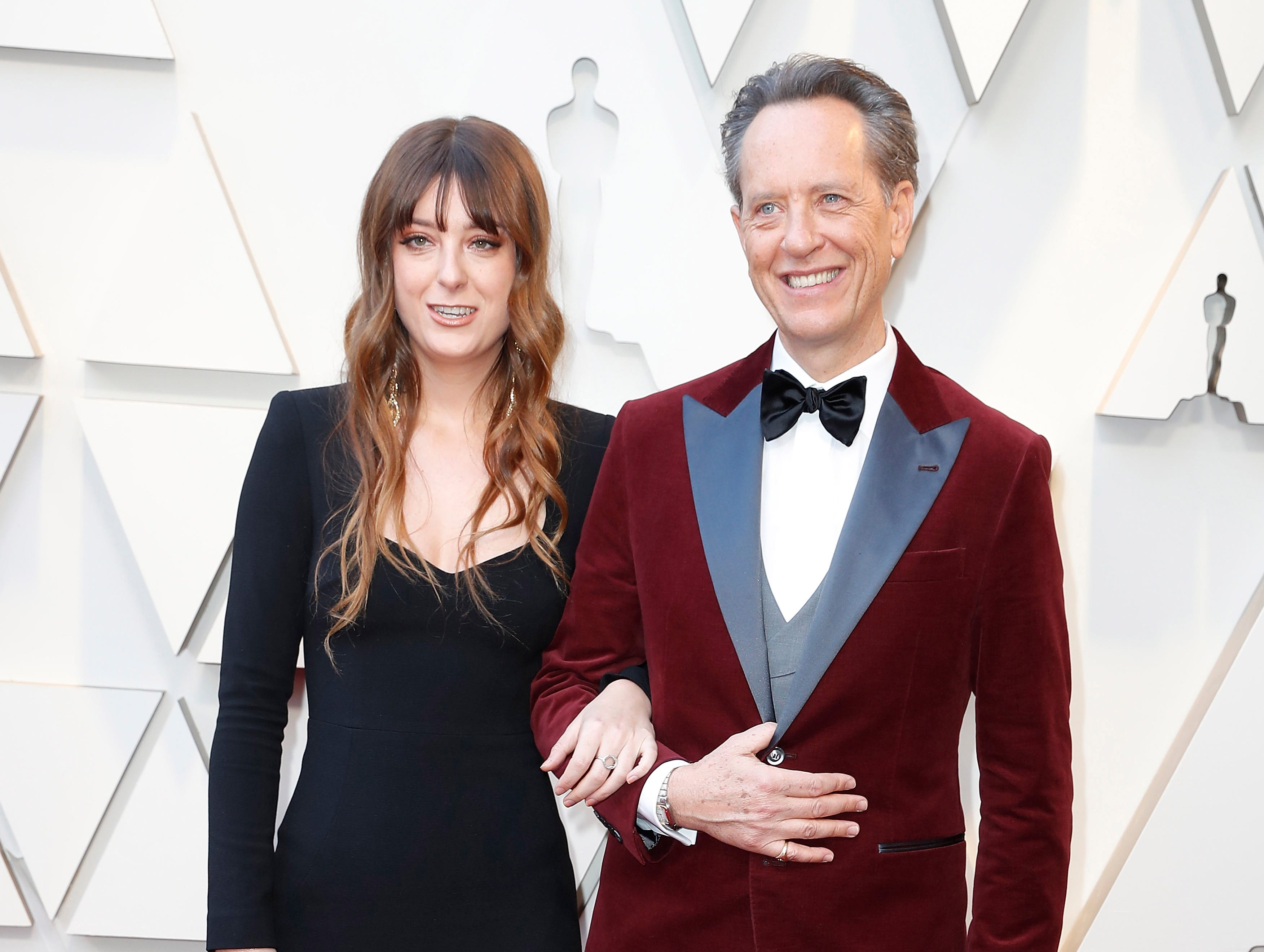 epa07394385 Olivia Grant (L) and Richard E Grant (R) arrive for the 91st annual Academy Awards ceremony at the Dolby Theatre in Hollywood, California, USA, 24 February 2019. The Oscars are presented for outstanding individual or collective efforts in 24 categories in filmmaking.  EPA-EFE/ETIENNE LAURENT ORG XMIT: MCX079
