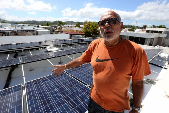 Edgardo Rodríguez, of Carolina, Puerto Rico, says he's had problems with rising energy bills and installation of a solar system on his home by Sunnova Energy Corp. Sunnova was the subject of a recent scathing report by the Puerto Rico Energy Board, an oversight agency.