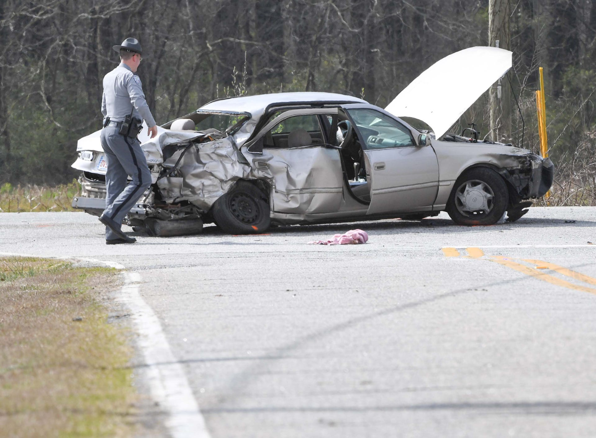 Three Car Accident In Townville On Sc24
