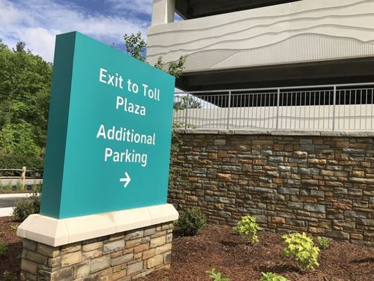 Hourly rates are higher than long-term parking rates at Asheville Regional Airport, so officials encourage drivers to carefully read signage before parking.