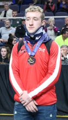 Susquehanna Valley's Mitchell Knapp made it back to Times Union Center on Saturday evening.