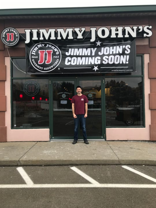 Craig Ferris is the new owner of Jimmy John's on the Vestal Parkway.