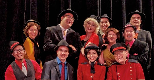 """Nathan Detroit and his gang attempt to launch the biggest floating craps game in town when Eastern Florida State College presents """"Guys and Dolls"""" March 8 to 10."""