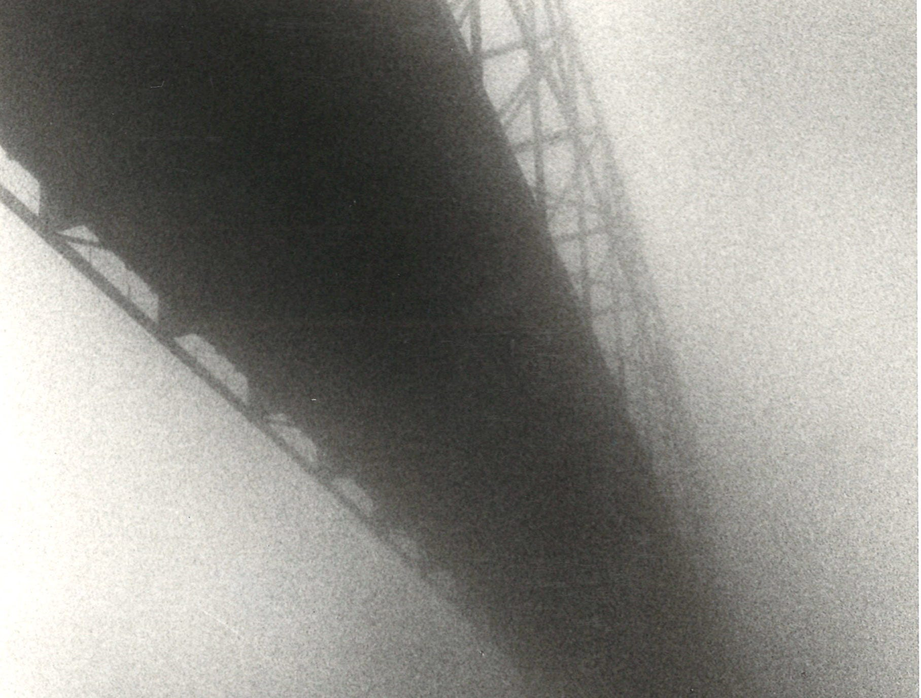 The Harbor Bridge rises up from the fog in Corpus Christi on Jan. 17, 1979.