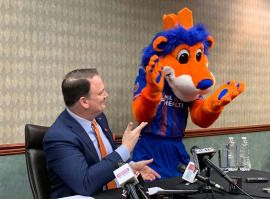 FC Cincinnati's Jeff Berding with Gary.