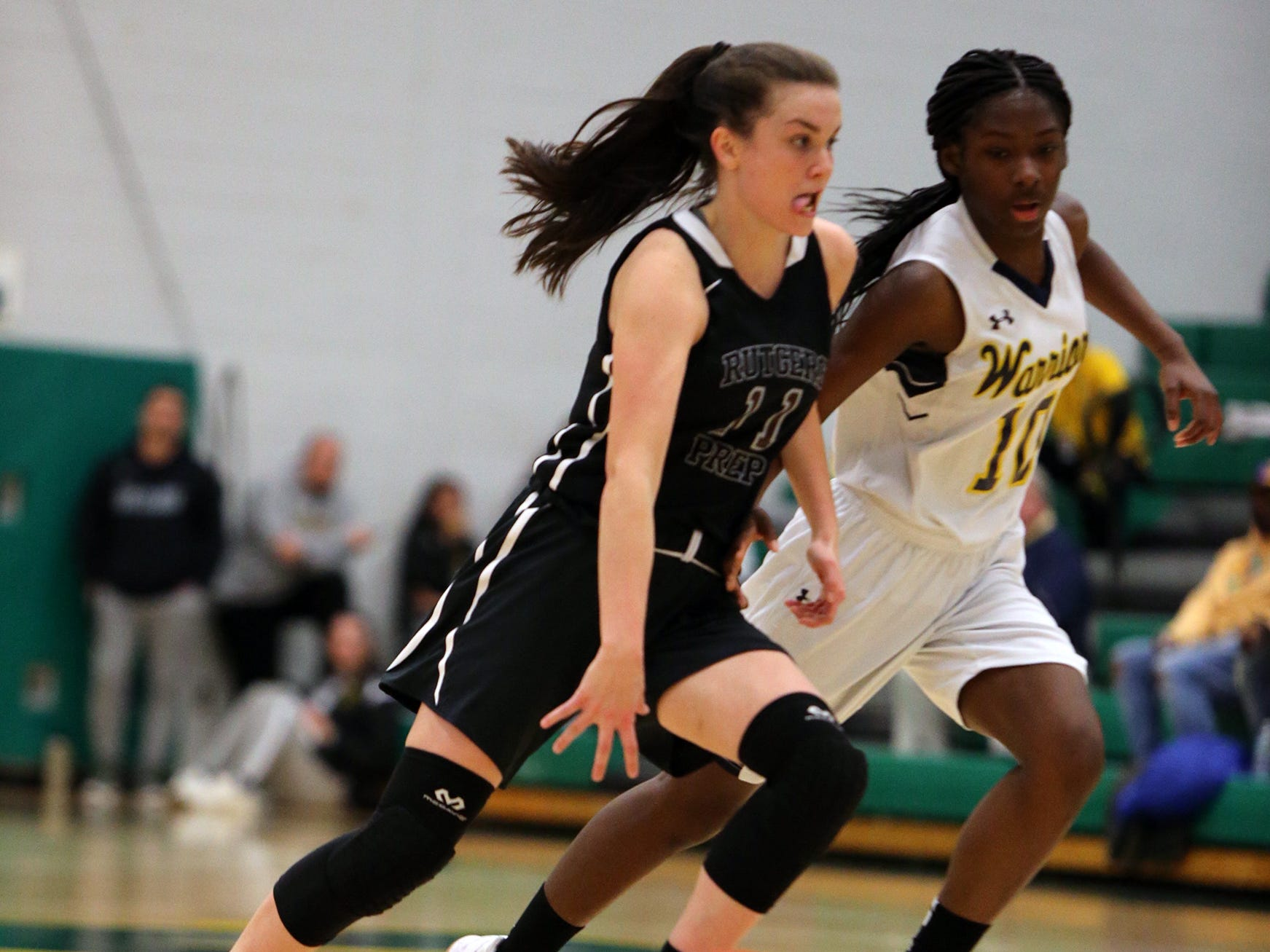 Franklin vs. Rutgers Prep girls basketball in the Somerset County Tournament final on Saturday, Feb. 23, 2019 at Montgomery High School.