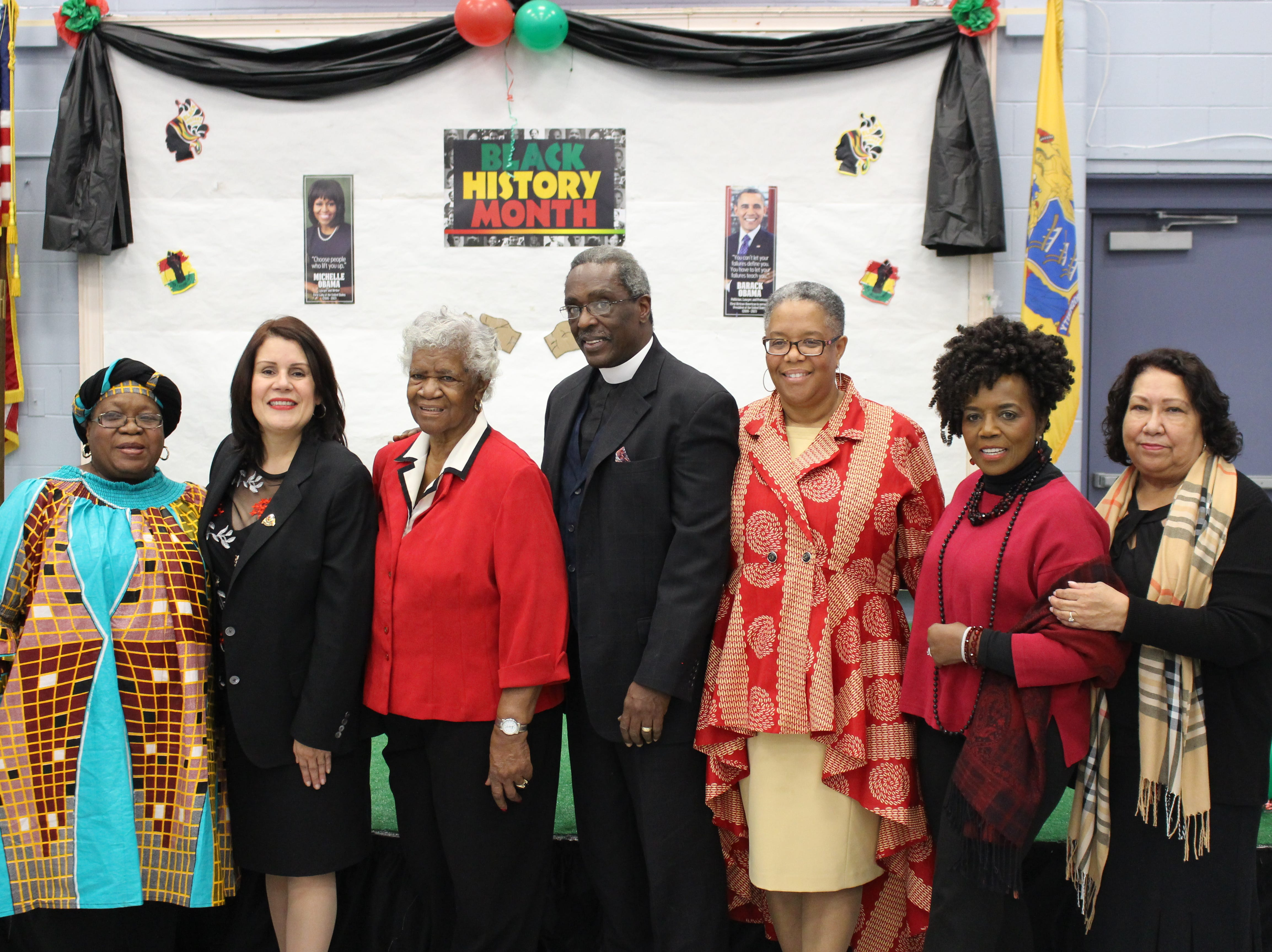 On Tuesday, Feb. 19, Perth Amboy Mayor Wilda Diaz and the Department of Human Service's Office on Aging hosted its annual Black History Month Celebration to honor the recipients of the Thomas Mundy Peterson Inspirational Award.