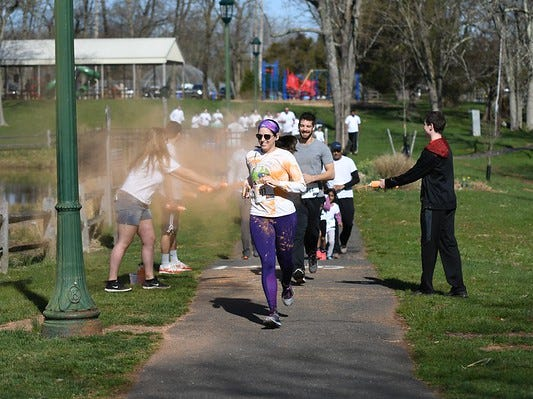The 3rd annual Rainbow Run 5K will be held from 9 a.m. to noon on Sunday, April 7, at White Oak Park in Branchburg.