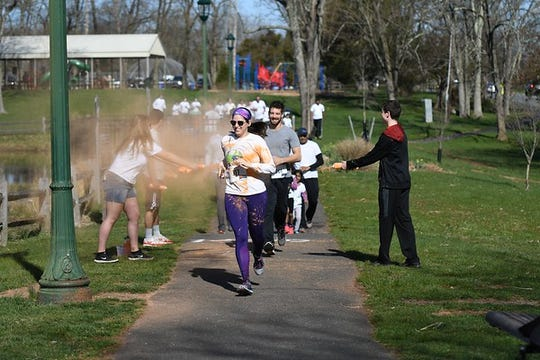 The 3rd annual Rainbow Run 5K will be held from 9 a.m. to noon on Sunday, April 7,at White Oak Park in Branchburg.