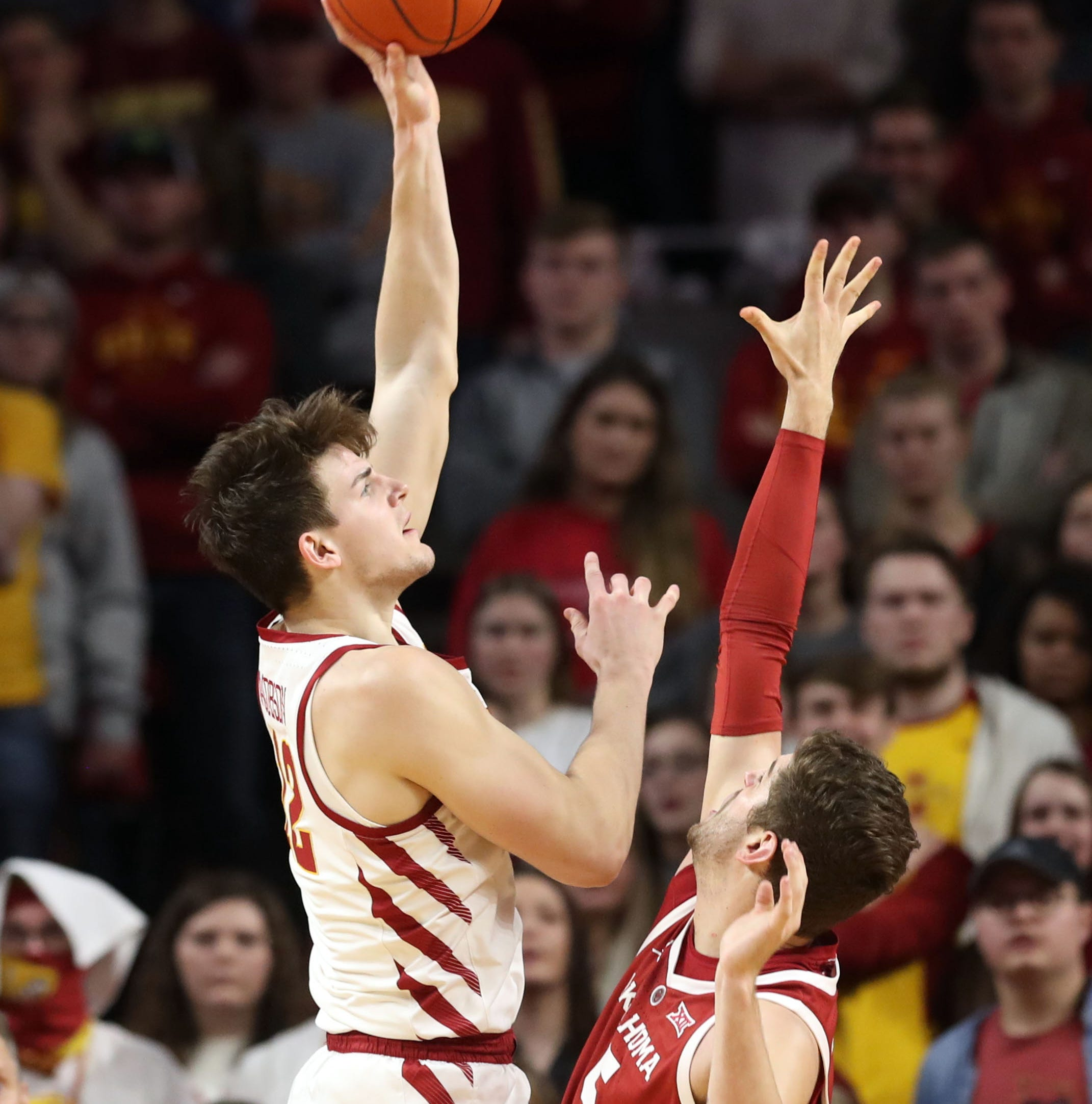 Good news on Shayok's toe; Prohms expecting child No. 3 soon; Jacobson pumped for Big 12 atmosphere