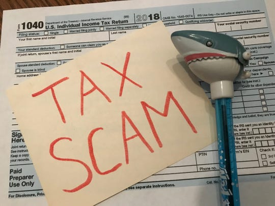 Taxpayers are warned to watch out for scams during tax season, including a tax professional who won't sign your return.