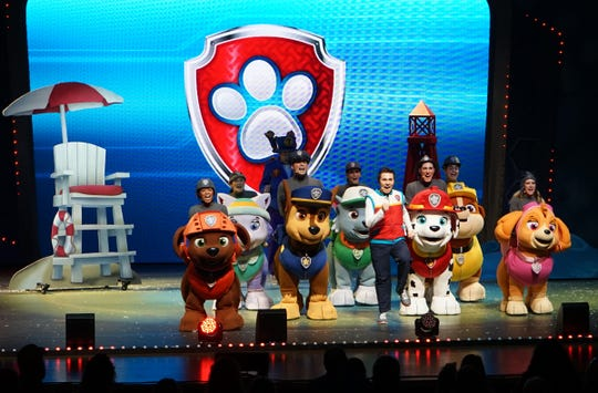 """PAW Patrol Live"" returns to the Fox for seven performances Thursday through Sunday"