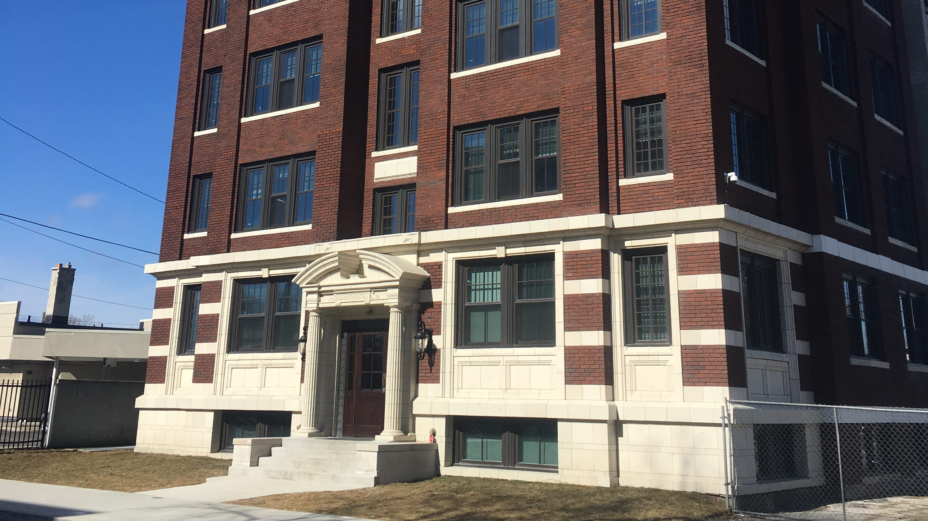 Long Abandoned Saint Rita Apartments In Detroit Turned Into Affordable Housing