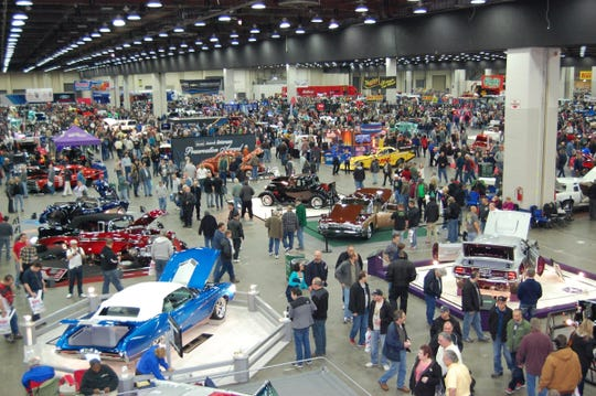 Eight hundred custom cars and hot rods are due at Autorama.