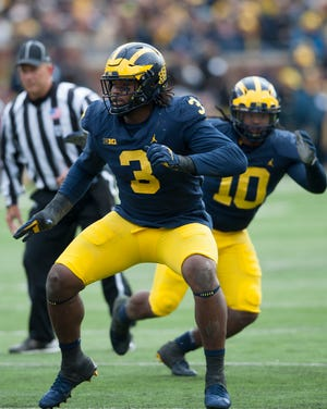 With a need for an edge rusher, Michigan defensive lineman Rashan Gary is possibility for the Lions at No. 8 in the NFL Draft.