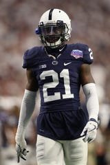 Cornerback Amani Oruwariye recorded 18 pass breakups and seven interceptions over the past two seasons at Penn State.