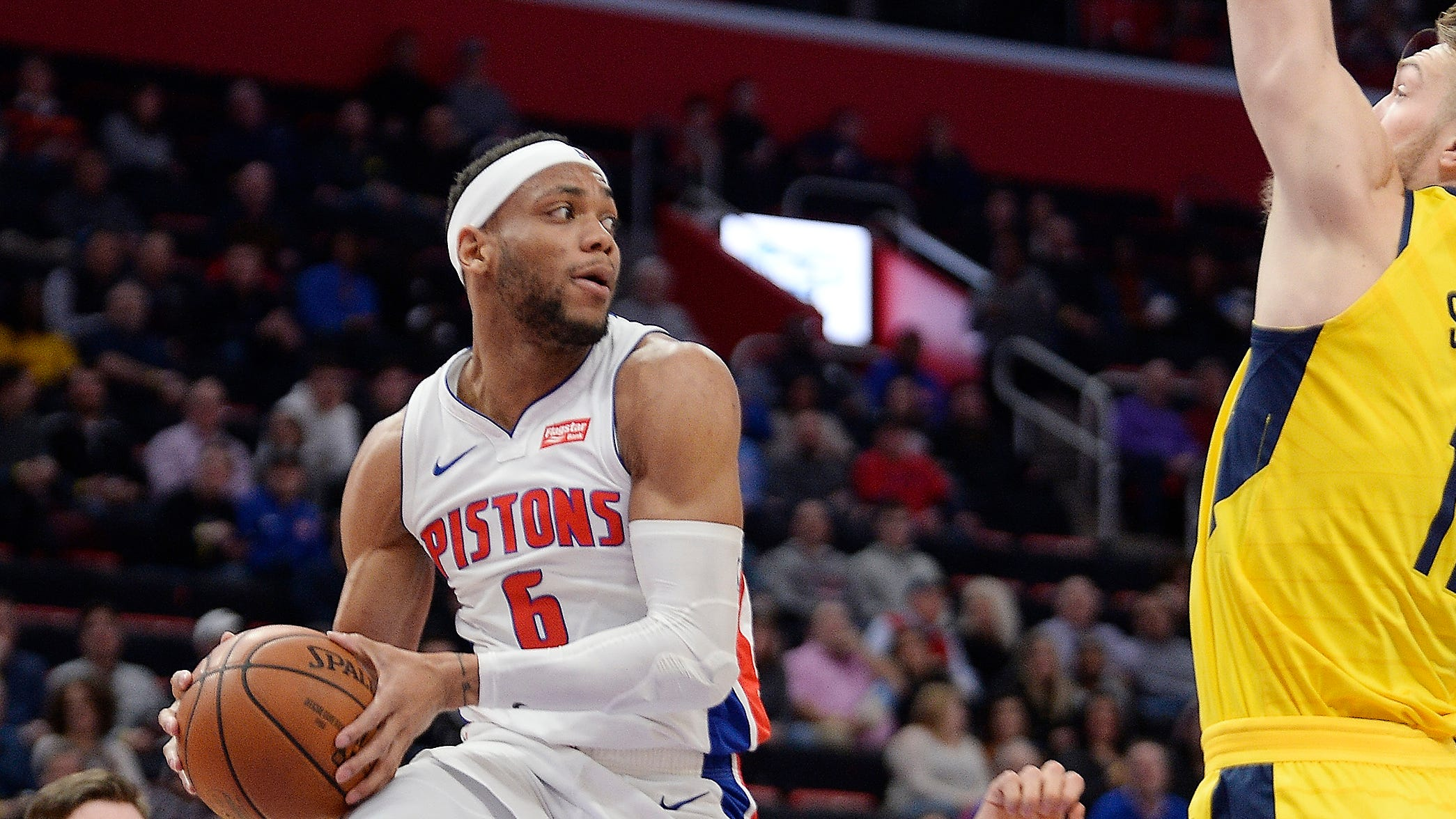 Pistons rookie Bruce Brown providing a jolt in lieu of points