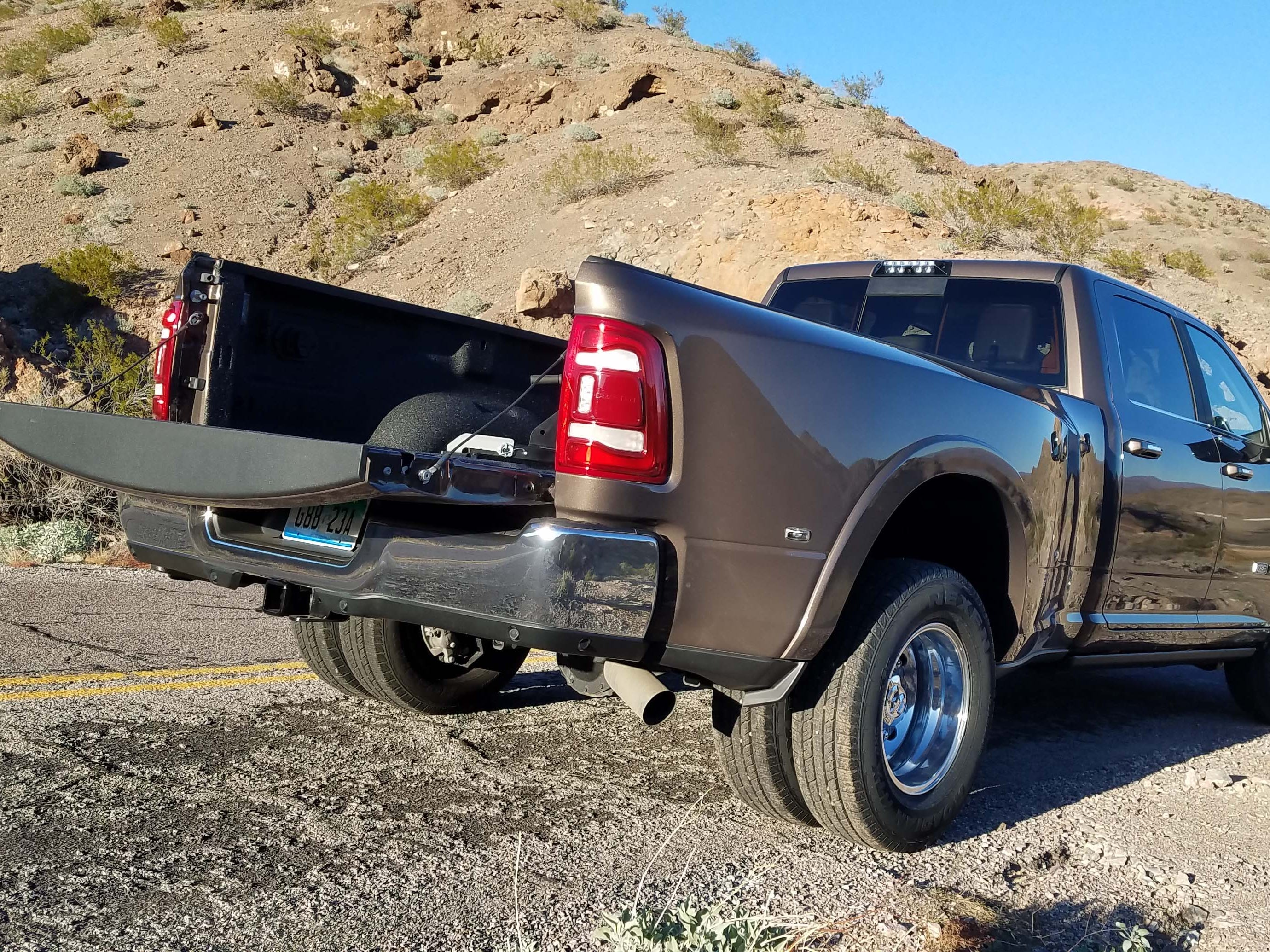 The Ram 3500 Heavy Duty can do it all — tow, payload and comfortably fit a family in the cab.