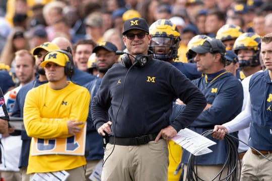 Jim Harbaugh enters his fifth season as Michigan's head coach.