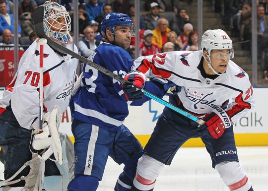 The Red Wings acquired defenseman Madison Bowey (22) from the Washington Capitals.