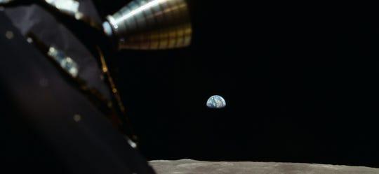 """A scene from """"Apollo 11."""""""