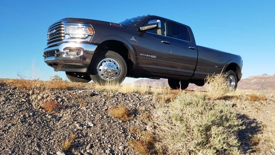 The Ram 3500 Heavy Duty boasts Herculean towing ability — yet is still comfortable to drive with a quiet interior.