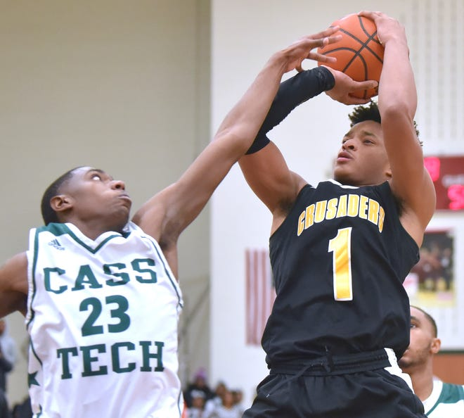 Omar Zeigler and Detroit King beat Detroit Cass Tech Monday and now face Melvindale in a district semifinal on Wednesday.