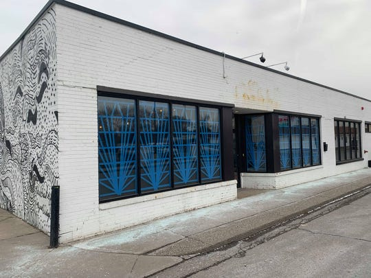 Exterior of the forthcoming Bagley Central bar