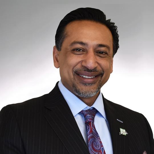 Ferzan M. Ahmed is the new Ohio Turnpike Executive Director.