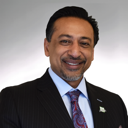 Ferzan M. Ahmed is the new Ohio Turnpike Executive Director.