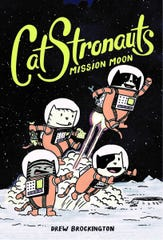 "Drew Brockington's ""CatStronauts"" graphic-novel series follows the adventures of cat astronauts Major Meowser, Blanket, Waffles and Pom Pom."