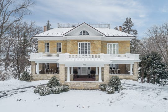 Mark Murphy's house, 935 N. Broadway, De Pere, is once again for sale.