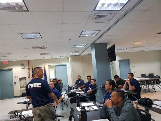 U.S. Coast Guard Sector Guam hosted a multi-agency search-and-rescue course for emergency responders from Guam, the CNMI and the FSM Feb. 19-21.