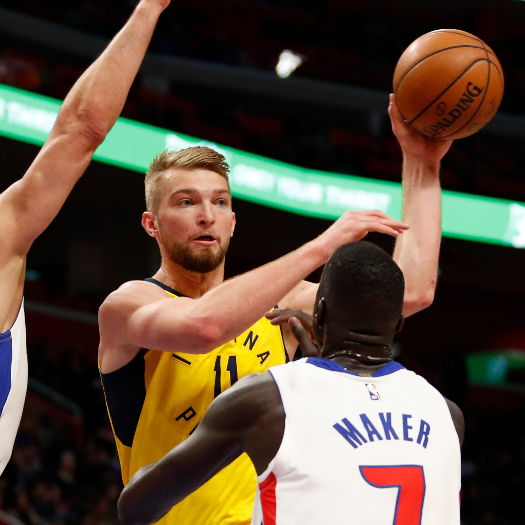 Domantas Sabonis nearing return from injury, and Pacers sure could use him