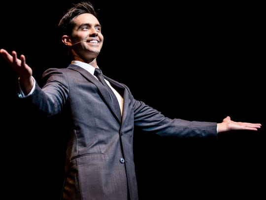 Michael Carbonaro will perform March 23 at Old National Centre.