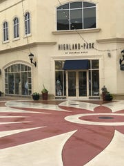 Highland Park by Material Girlsis located at Renaissance at Colony Park in Ridgeland.
