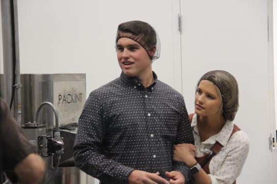 Kelton and Josie (Bates) Balka visited Asheville, N.C., for their honeymoon.