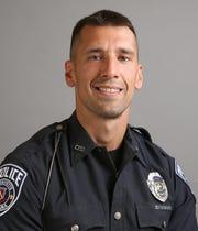 Lafayette police Specialist Ian O'Shields