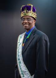 Carl Simon, Lafayette Mardi Gras Festival, Inc. King Toussaint L'Ouverture LXI