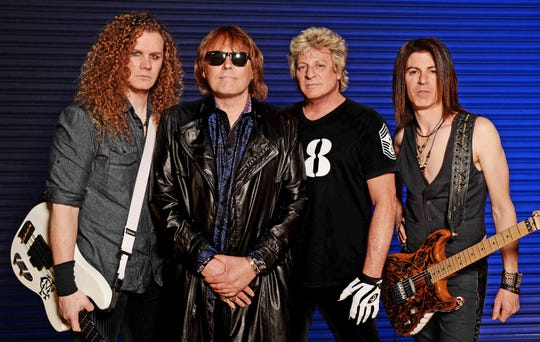 Chris McCarvill, Don Dokken, Mick Brown and Jon Levin of Dokken will perform on July 13 at the Picktown Palooza in Pickerington.